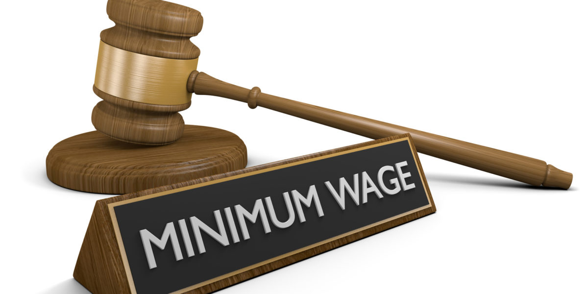 New California Minimum Wage Law